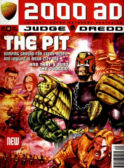 Cover for 2000 AD (Fleetway Publications, 1987 series) #970