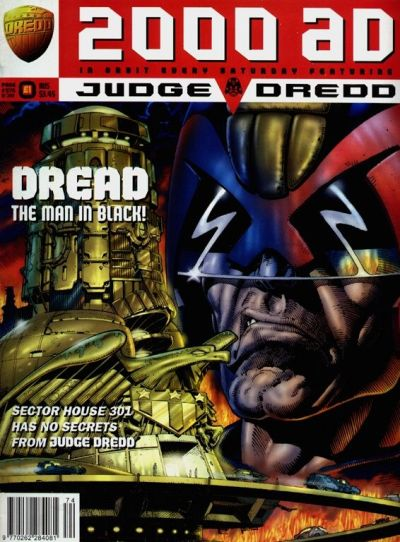 Cover for 2000 AD (Fleetway Publications, 1987 series) #974
