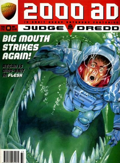 Cover for 2000 AD (Fleetway Publications, 1987 series) #977