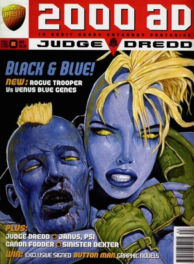 Cover for 2000 AD (Fleetway Publications, 1987 series) #983