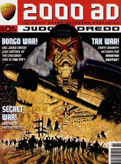 Cover for 2000 AD (Fleetway Publications, 1987 series) #994