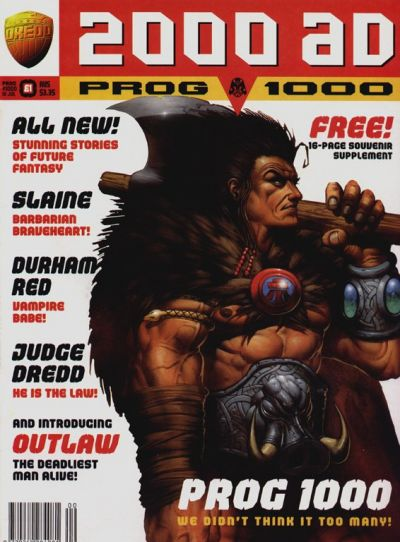 Cover for 2000 AD (Fleetway Publications, 1987 series) #1000