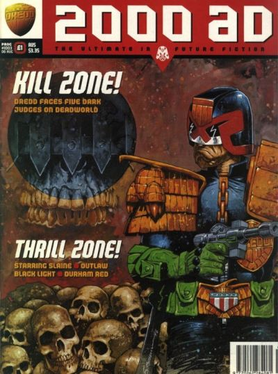 Cover for 2000 AD (Fleetway Publications, 1987 series) #1003