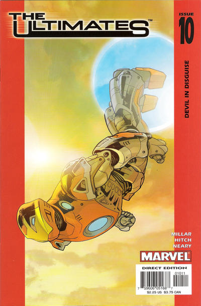 Cover for The Ultimates (Marvel, 2002 series) #10