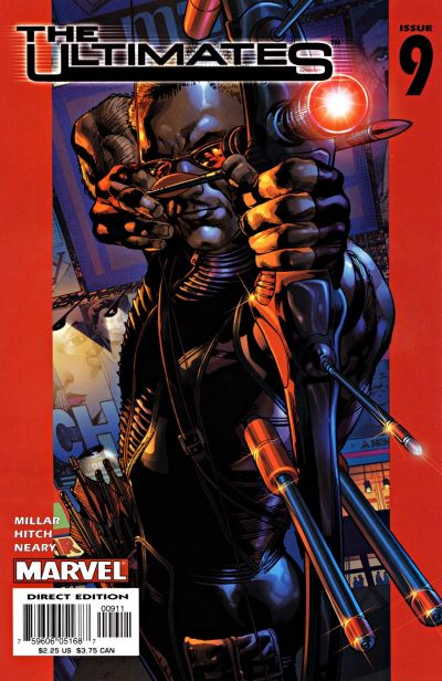 Cover for The Ultimates (Marvel, 2002 series) #9