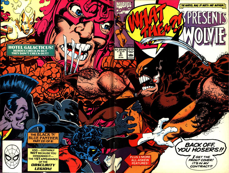 Cover for What The--?! (Marvel, 1988 series) #9