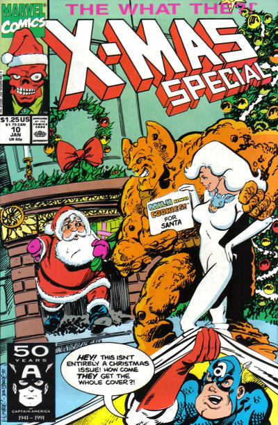 Cover for What The--?! (Marvel, 1988 series) #10
