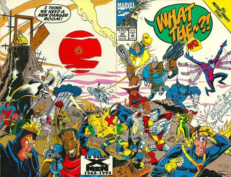 Cover for What The--?! (Marvel, 1988 series) #25