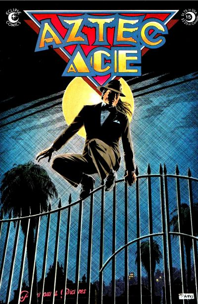 Cover for Aztec Ace (Eclipse, 1984 series) #15