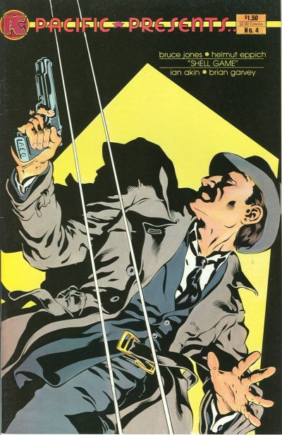 Cover for Pacific Presents (Pacific Comics, 1982 series) #4