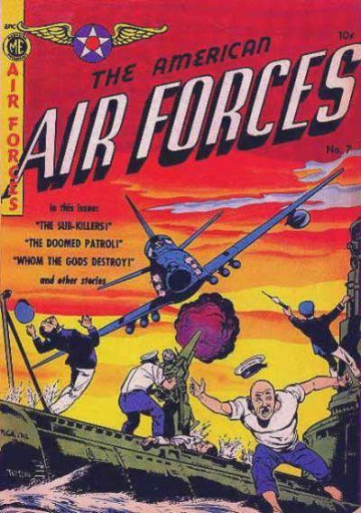 Cover for A-1 (Magazine Enterprises, 1945 series) #58