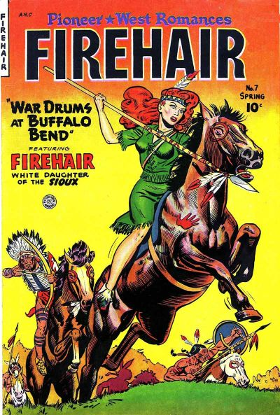 Cover for Firehair (Fiction House, 1951 series) #7