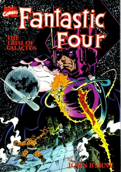 Cover for The Fantastic Four: The Trial of Galactus (Marvel, 1989 series) #[nn]