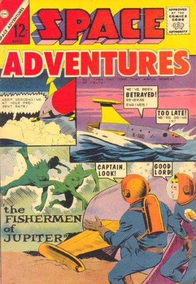 Cover for Space Adventures (Charlton, 1958 series) #56