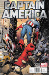 Cover for Captain America (Marvel, 2011 series) #3 [Newsstand]