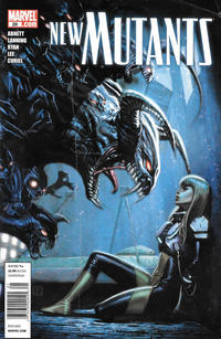 Cover Thumbnail for New Mutants (Marvel, 2009 series) #28 [Newsstand]
