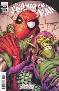 Cover Thumbnail for Amazing Spider-Man (Marvel, 2018 series) #49 (850) [Variant Edition - Mark Bagley Cover]