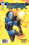 Cover for Mystique (Marvel, 2003 series) #12 [Newsstand]