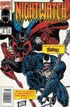Cover for Nightwatch (Marvel, 1994 series) #6 [Newsstand]