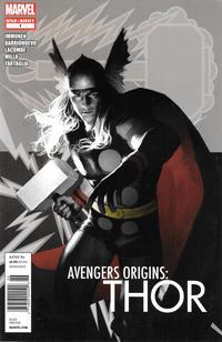 Cover Thumbnail for Avengers Origins: Thor (Marvel, 2012 series) #1 [Newsstand]
