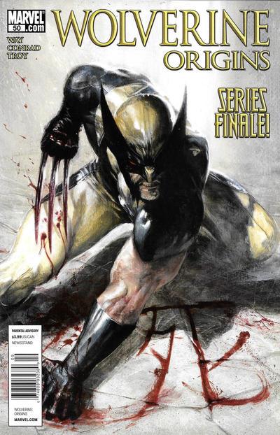 Cover for Wolverine: Origins (Marvel, 2006 series) #50