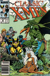 Cover for Classic X-Men (Marvel, 1986 series) #20 [Newsstand]