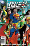 Cover for Justice League of America (DC, 2006 series) #12 [Newsstand - Left Side of Cover]