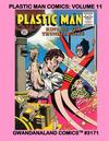 Cover for Gwandanaland Comics (Gwandanaland Comics, 2016 series) #3171 - Plastic Man Comics: Volume 11