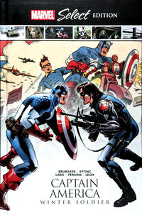 Cover Thumbnail for Captain America: Winter Soldier (Marvel, 2019 series)
