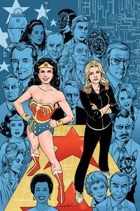 Cover Thumbnail for Wonder Woman '77 Meets the Bionic Woman (Dynamite Entertainment, 2016 series) #2 [Cover E Retailer Incentive 'Virgin Art' Lopresti]