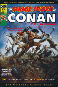 Cover Thumbnail for Savage Sword of Conan: The Original Marvel Years Omnibus (Marvel, 2019 series) #1 [Direct Market Cover]