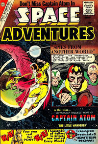 Cover Thumbnail for Space Adventures (Charlton, 1958 series) #35