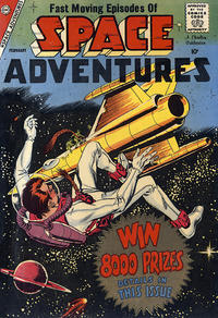 Cover Thumbnail for Space Adventures (Charlton, 1958 series) #27