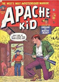 Cover Thumbnail for Apache Kid (Marvel, 1950 series) #10