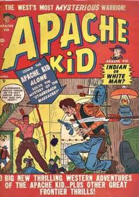 Cover Thumbnail for Apache Kid (Marvel, 1950 series) #4
