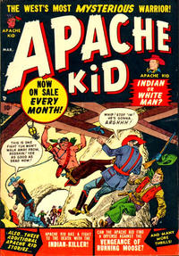 Cover Thumbnail for Apache Kid (Marvel, 1950 series) #3