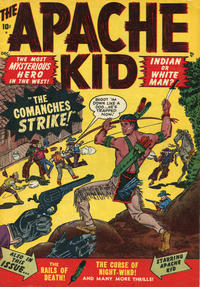 Cover Thumbnail for Apache Kid (Marvel, 1950 series) #53 [1]