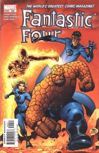 Cover Thumbnail for Fantastic Four (Marvel, 1998 series) #509 [Direct Edition]