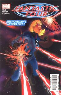 Cover Thumbnail for Fantastic Four (Marvel, 1998 series) #504 (75) [Direct Edition]