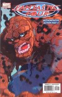 Cover Thumbnail for Fantastic Four (Marvel, 1998 series) #506 (77) [Direct Edition]