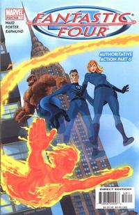 Cover Thumbnail for Fantastic Four (Marvel, 1998 series) #508 (79) [Direct Edition]