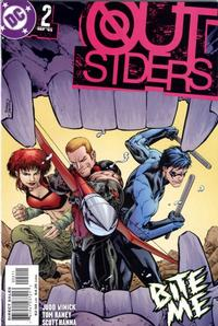 Cover Thumbnail for Outsiders (DC, 2003 series) #2