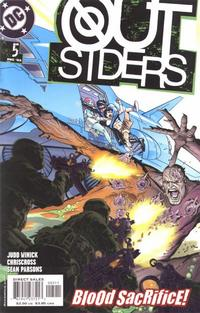 Cover Thumbnail for Outsiders (DC, 2003 series) #5