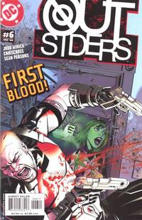 Cover Thumbnail for Outsiders (DC, 2003 series) #6