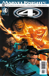 Cover Thumbnail for Marvel Knights 4 (Marvel, 2004 series) #1