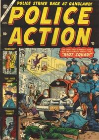 Cover Thumbnail for Police Action (Marvel, 1954 series) #1