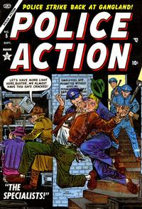 Cover Thumbnail for Police Action (Marvel, 1954 series) #5