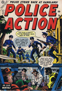 Cover Thumbnail for Police Action (Marvel, 1954 series) #6
