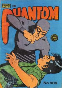 Cover Thumbnail for The Phantom (Frew Publications, 1948 series) #605