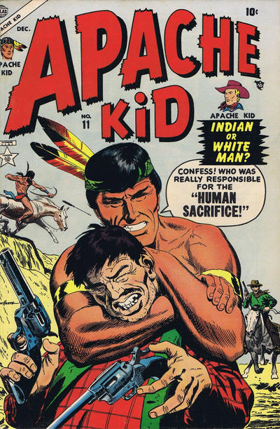 Cover for Apache Kid (Marvel, 1950 series) #11